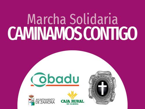 "Marcha solidaria: ""Caminamos Contigo"""