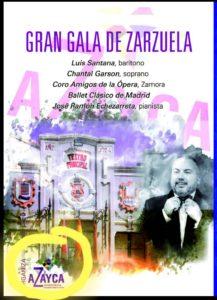 GRAN GALA DE ZARZUELA DICIEMBRE 2019